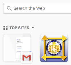 Modern browsers are starting to identify if 'apple-touch.png'(s) are present and if they are, use the appropriate size declared in the head to use as an icon when users are on a new browsers tab.