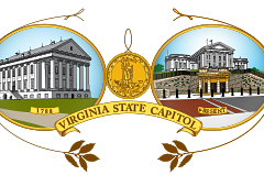 Illustrations of the Virginia State Capitol